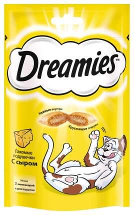 Лакомство Dreamies для взрослых кошек с сыром 140г