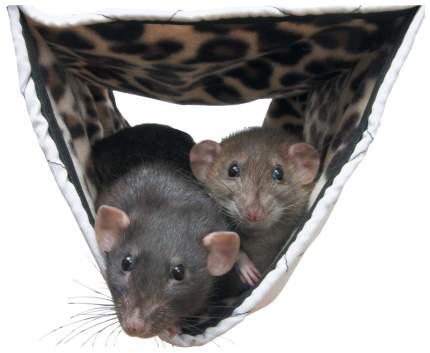 Гамак для хорьков, крыс Savic закрытый нейлон 24x44см в ассортименте