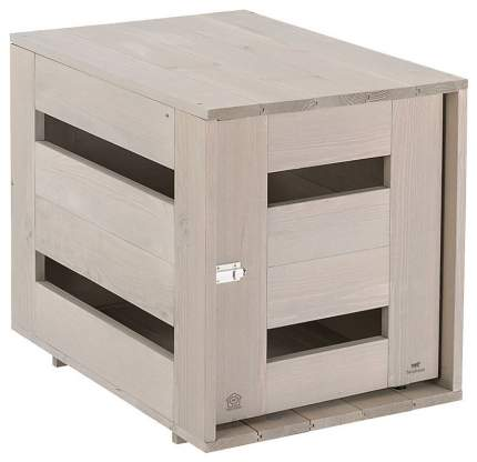 Домик для собак Ferplast Dog Home Small деревянный 65х45х54 см серый
