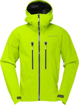 Спортивная куртка мужская Norrona Trollveggen Gore-Tex Pro, birch green, XL