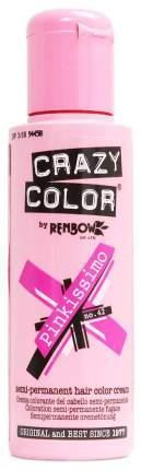 Краска для волос Crazy Color Renbow Crazy Color Extreme 42 Розовый пенкиссимо 100 мл