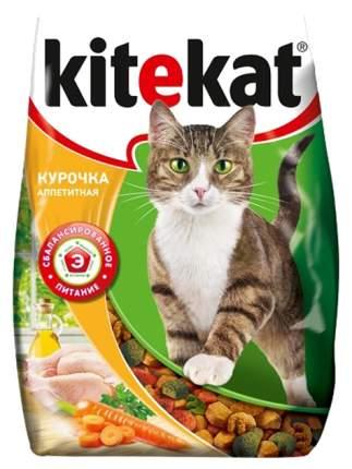Сухой корм для кошек Kitekat, Курочка аппетитная, 10шт по 800г