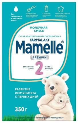 Смеcь молочная cухая mamelle premium 2 6-12мес 350 г