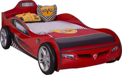 Кровать-машина Cilek Carbed Coupe красная 90х190