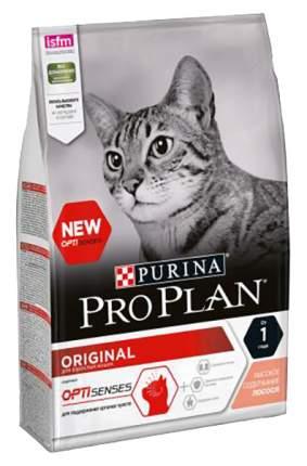 Сухой корм для кошек PRO PLAN Original Optisenses, лосось, 3кг