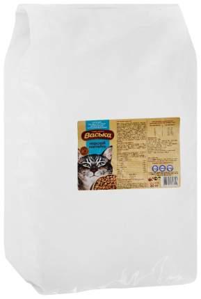 Сухой корм для кошек Васька, для профилактики МКБ, морской коктейль, 10кг