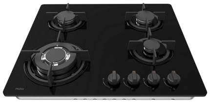Встраиваемая варочная панель газовая Haier HHX-G 64 CWB1 Black