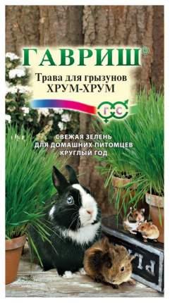 Семена Трава для грызунов Хрум-хрум, 10 г Гавриш