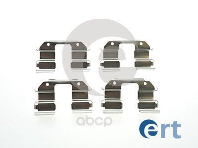 Комплект монтажный тормозных колодок Ert для Chevrolet Spark 05/Daewoo: matiz 98-05 420075