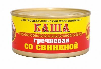 Консервы мясные ЙОМ каша гречневая со свининой №8 325 г