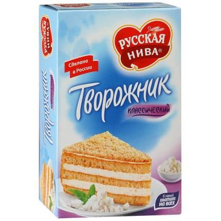 Торт Русская Нива творожник классический 340 г