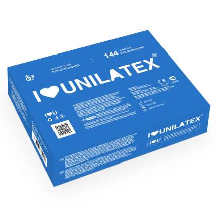 Презервативы Unilatex Natural Plain 144 шт.