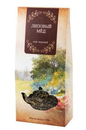 Чай черный Gutenberg липовый мед 100 г