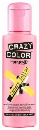 Краска для волос Crazy Color Extreme 49 Желтая канарейка 100 мл