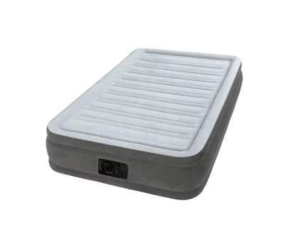 Intex, 67766, Надувная кровать Comfort-Plush 99х191х33см, встроенный насос 220V