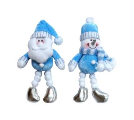 Фигура новогодняя Snowmen Е80325 Белый, голубой, серебристый