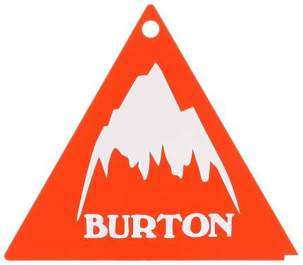 Скребок Burton Tri-Scraper 12PK красный