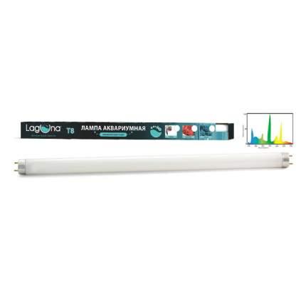 Лампа для аквариумов LAGUNA T8 15W белая люминесцентная, 15Вт, 436мм