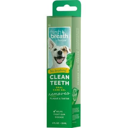 Гель для чистки зубов у собак и кошек TropiClean Свежее дыхание, 59мл