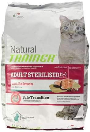 Сухой корм для кошек TRAINER Natural Adult Sterilised, для стерилизованных, лосось, 12,5кг