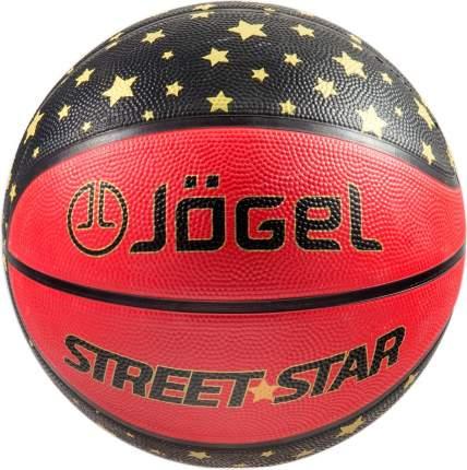 Баскетбольный мяч Jogel Street Star №7 red