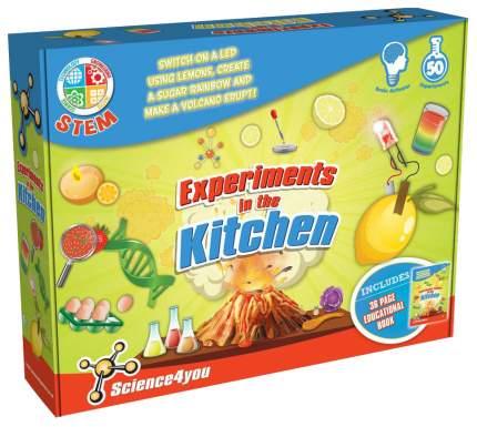 Набор для исследования Science4You эксперементы на кухне