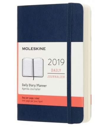 Ежедневник Moleskine CLASSIC SOFT Pocket 90x140мм мягкая обложка синий сапфир
