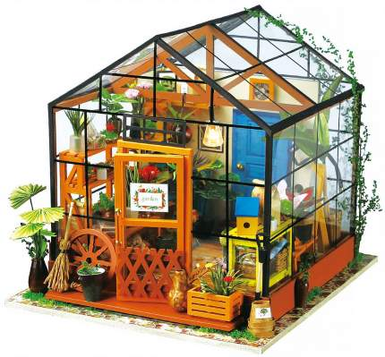 Конструктор деревянный Robotime DIY House Зимний сад Kathy's green house