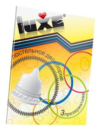 Презервативы Luxe Trio Постельное Двоеборье 3 шт.