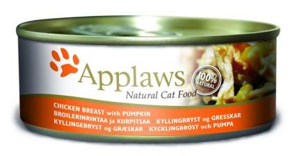 Консервы для кошек Applaws с куриной грудкой и тыквой, 156г