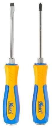 Набор отверток Kraft KT700445: 2 отвертки усиленные