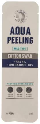 Палочка-пилинг для лица A'PIEU Aqua Peeling Cotton Swab Mild 3 мл