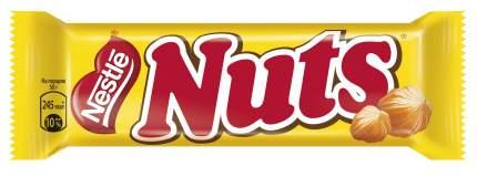 Батончик Nestle шоколадный nuts ореховый тюнинг 50 г