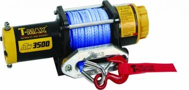Лебедка электрическая T-Max ATW PRO 3500 с синтетическим тросом W0520