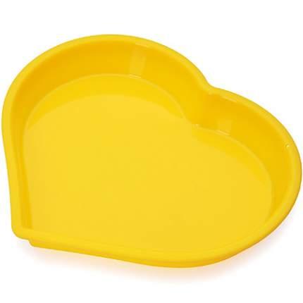 Форма для выпечки Mayer&Boch 1,2 л, силикон, желтая, 28068-2