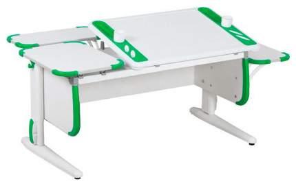 Парта Дэми Techno СУТ 31-02 с задней и боковой приставкой 04962-4 Белый/Зеленый