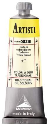 Масляная краска Maimeri Artisti кадмий лимонный 40 мл