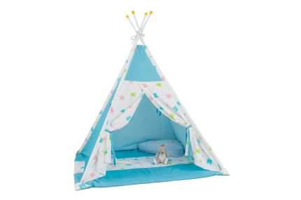 Игровая палатка Polini Монстрики, голубой