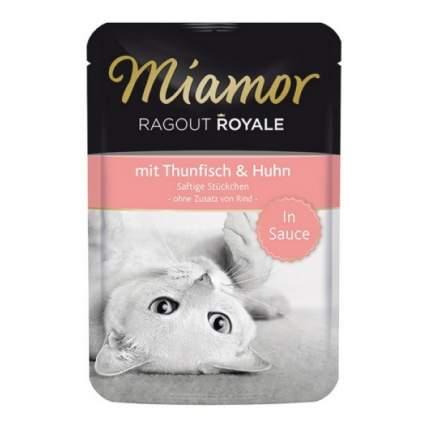 Влажный корм для кошек Miamor, королевское рагу в соусе, 100г