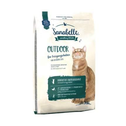 Сухой корм для кошек Bosch Sanabelle Outdoor, для гуляющих на улице, утка, 0,4кг