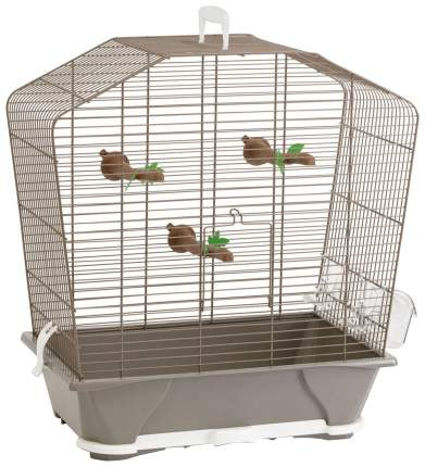 Клетка для птиц Savic Camille 30, бежевая, 48 х 45 х 25 см