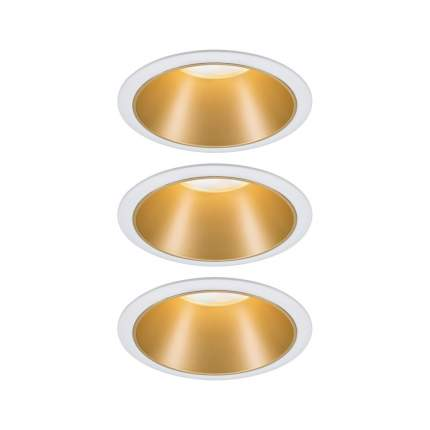 Встраиваемый светильник EBL Cole Coin 3StepDim 3x6,5W ws/gd/Kst 93406