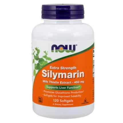 NOW Silymarin 450 мг (120 softgels) - силимарин, экстракт расторопши для печени