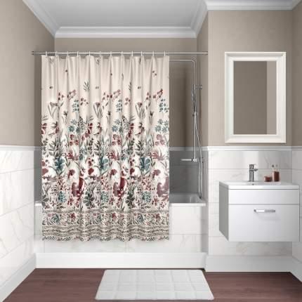 Штора для ванной комнаты IDDIS Décor D03P118i11