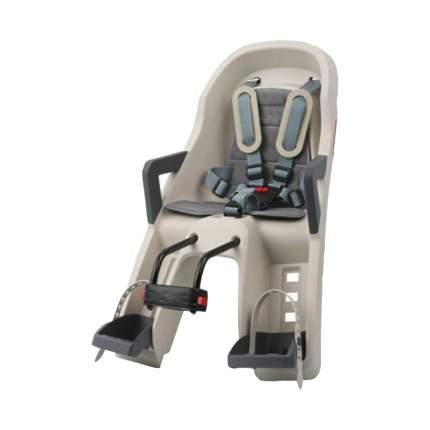 Велокресло детское Polisport Guppy Mini FF Dark Grey/Silver PLS8639400004