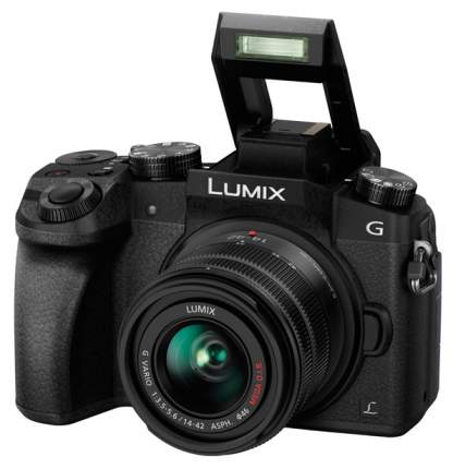 Фотоаппарат системный Panasonic Lumix DMC-G7K Kit Black