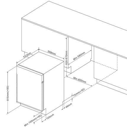 Встраиваемая посудомоечная машина 60 см Hansa ZIM676H