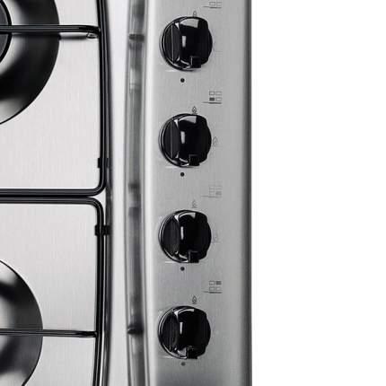 Встраиваемая варочная панель газовая Indesit MPA 64 S (IX) Black/Silver