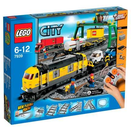 Конструктор LEGO City Trains Грузовой поезд (7939)