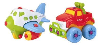 Набор Keenway Buildn Play Самолет и джип